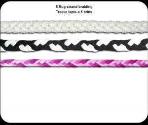 5 Rug strand braiding