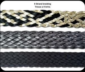 9 Strand braiding